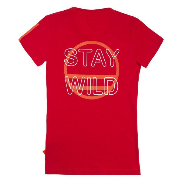 STAY WILD W TEE